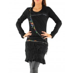 dresses tunics winter brand dy design 13066P bohemian hippie clothing