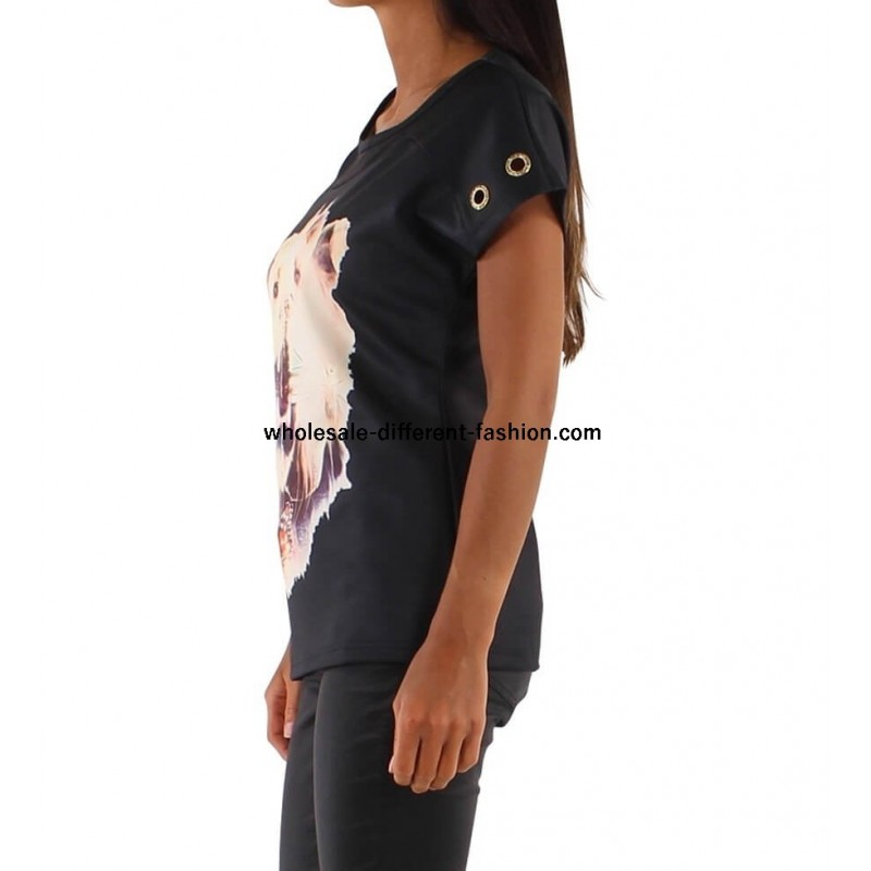 d3acb311df1a ... toppe t-shirt sommer Adeline 8061P tøj grossister ...