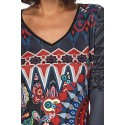 T-shirt top winter 101 idées 009W distributors women clothes