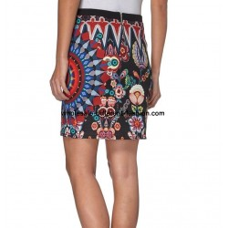 skirt print winter 101 idees 010W PLUS SIZE wholesale french clothes