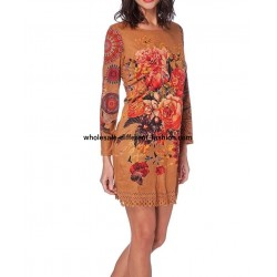 dress tunic suede 101 idées 228CMW wholesale french clothes