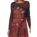 dress tunic winter 101 idées 186W bohemian hippie clothing