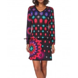 dress tunic print mid season 101 idées 412 uk designer