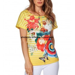 tshirt top print summer brand 101 idées Design 560AMVRA distributors