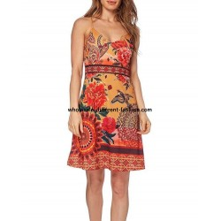dress summer ethnic chic 101 idées 663VRA wholesale Spanish clothing