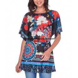 top tunic print summer 101 idées 1604Y uk designer