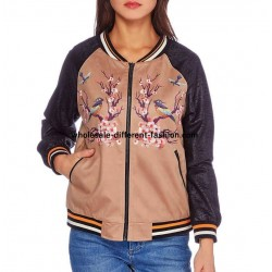 bomber jacket suede print 101 idées 349BOM suppliers Clothing