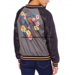 bomber jacket suede print 101 idées 350BOM suppliers Clothing