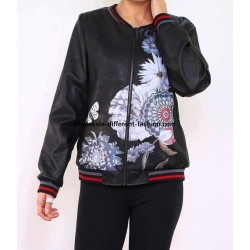 bomber jacket print 101 idées 1952BOM suppliers Clothing