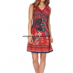 dress tunic ethnic floral print summer 101 idées 653VRA cheap discount