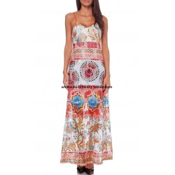 wholesale clothing maxidress lace ethnic summer 101 idées 387VRA bohemian
