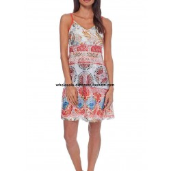 wholesale clothing dress tunic lace summer ethnic 101 idées 386VRA