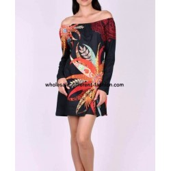 buy bulk clothes tunic ethnic tribal winter 101 idées 3143Z