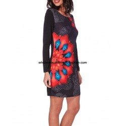 buy bulk dress tunic print mid season 101 idées 211V